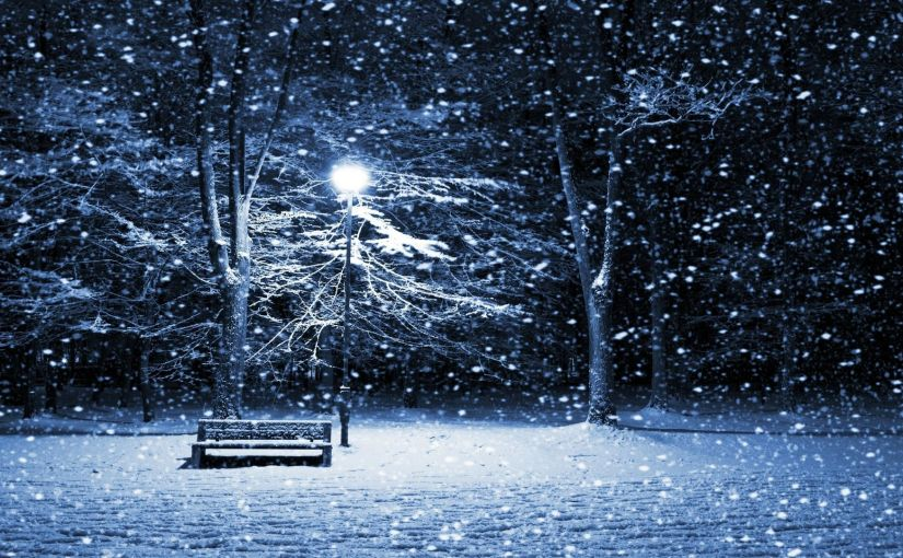 On a dark winter'snight